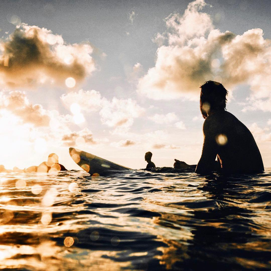 Siargao Island Surfing at Sunrise Philippines