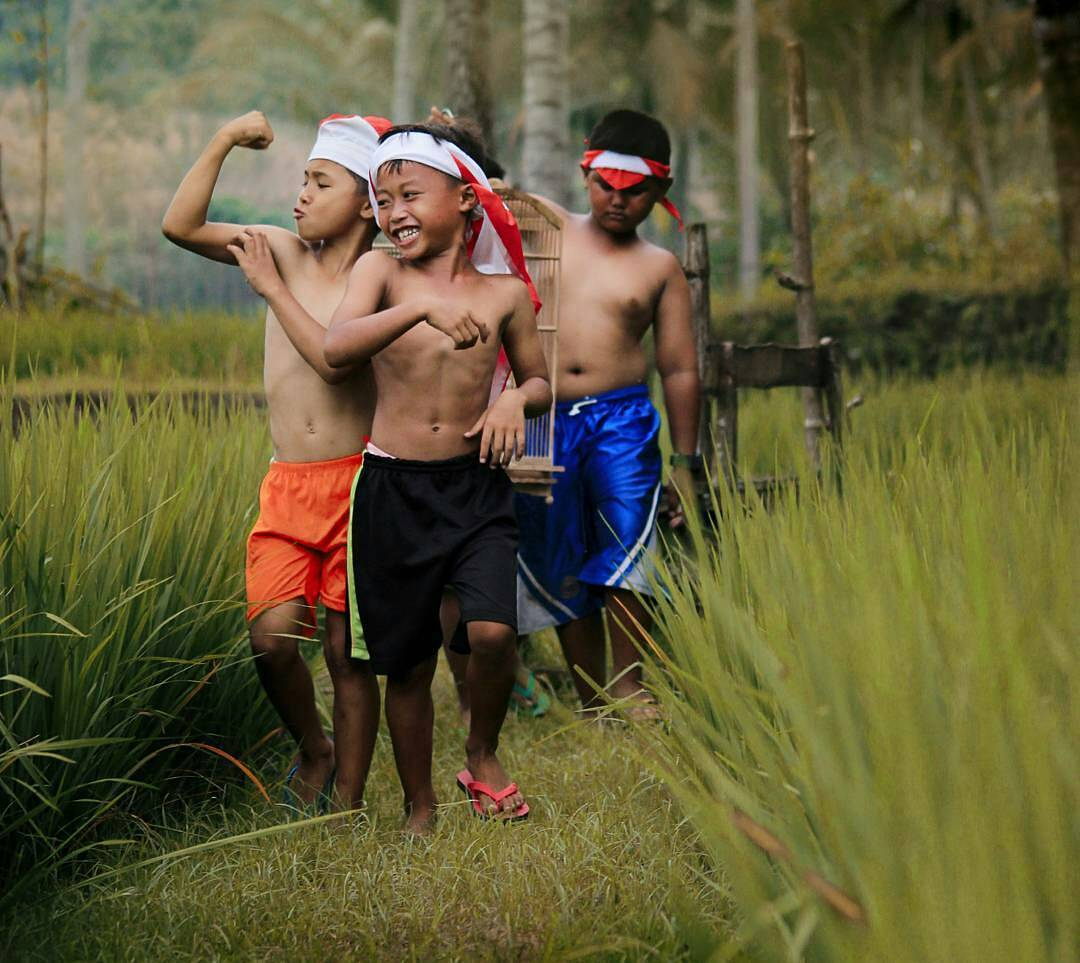 Indonesia Kids Playing
