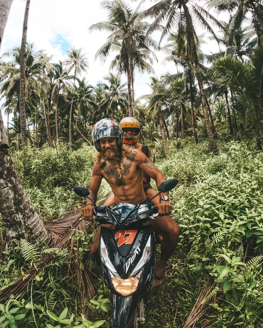 Weaving through the Jungle Paths of Siargao Island