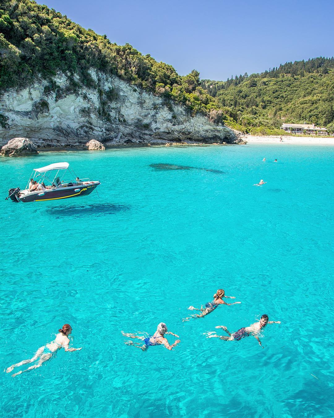 Antipaxos Island Greece Travel Guide Summer