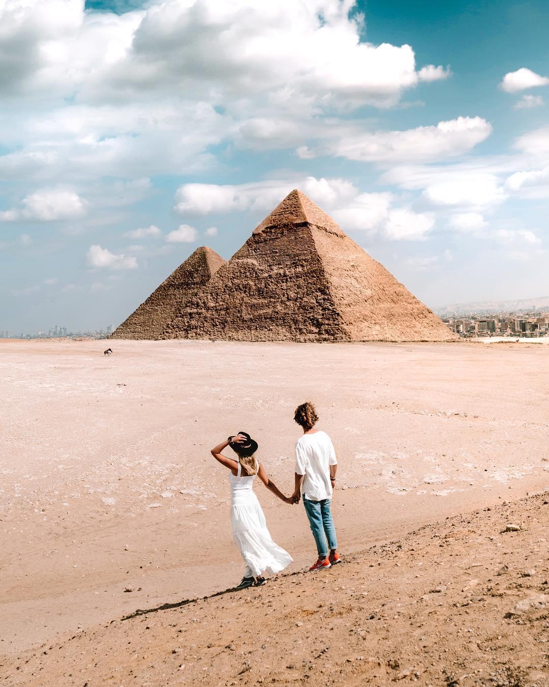 Egypt Pyramids Salt in our Hair