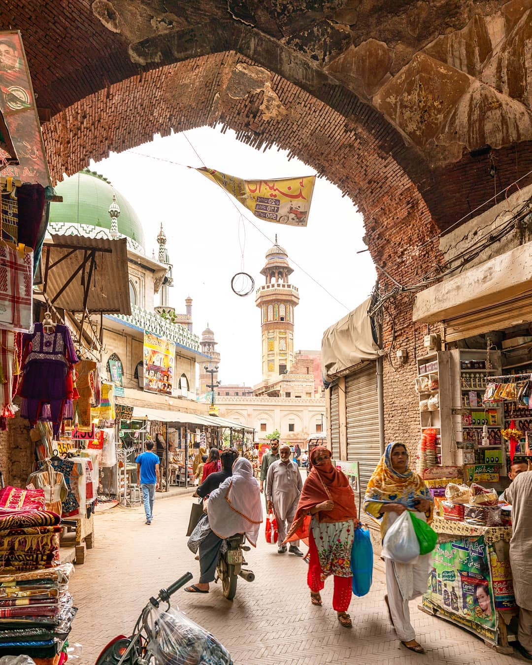 Walled City of Lahore Pakistan