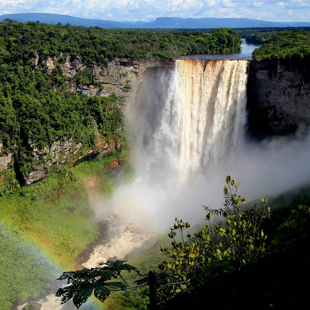 Visit Every Country Kaiteur Falls Guyana