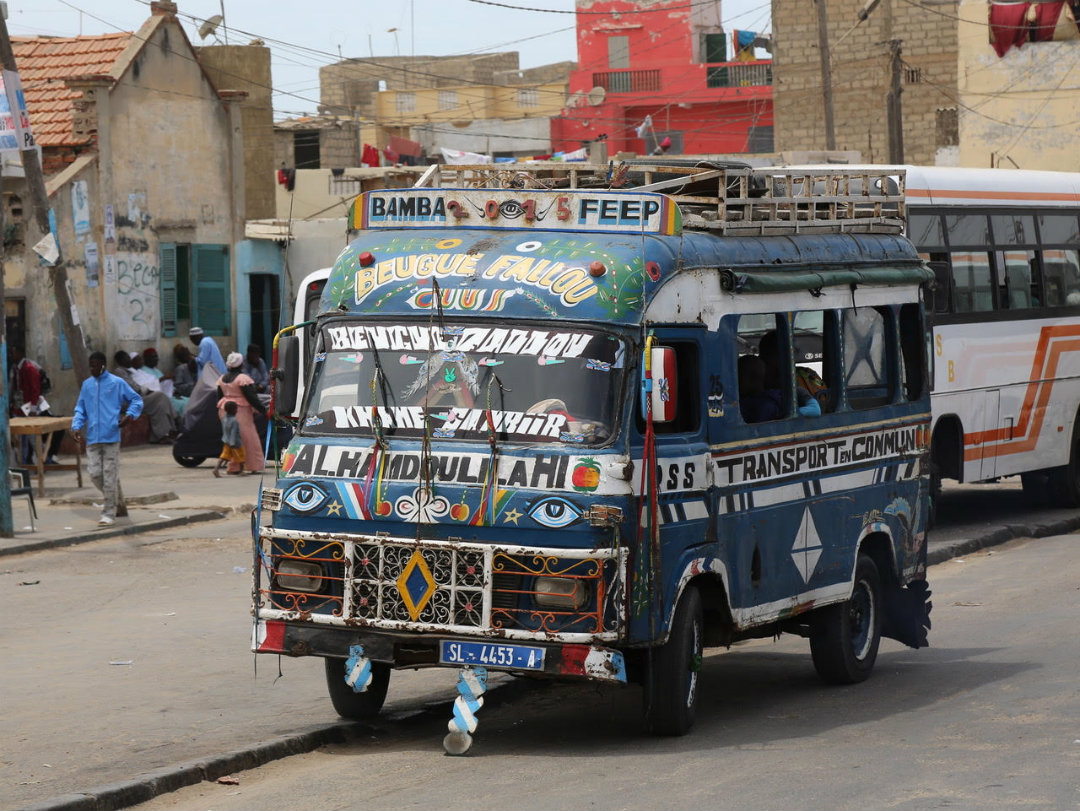 Visit Every Country Senegal Bus