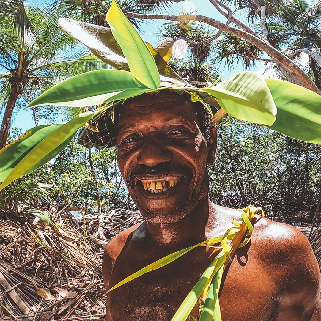 Surfing in the Solomon Islands - Local People