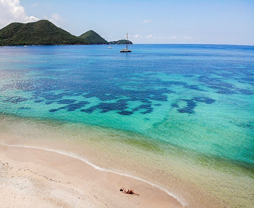 Caribbean First Time Visitors - St Lucia Beach