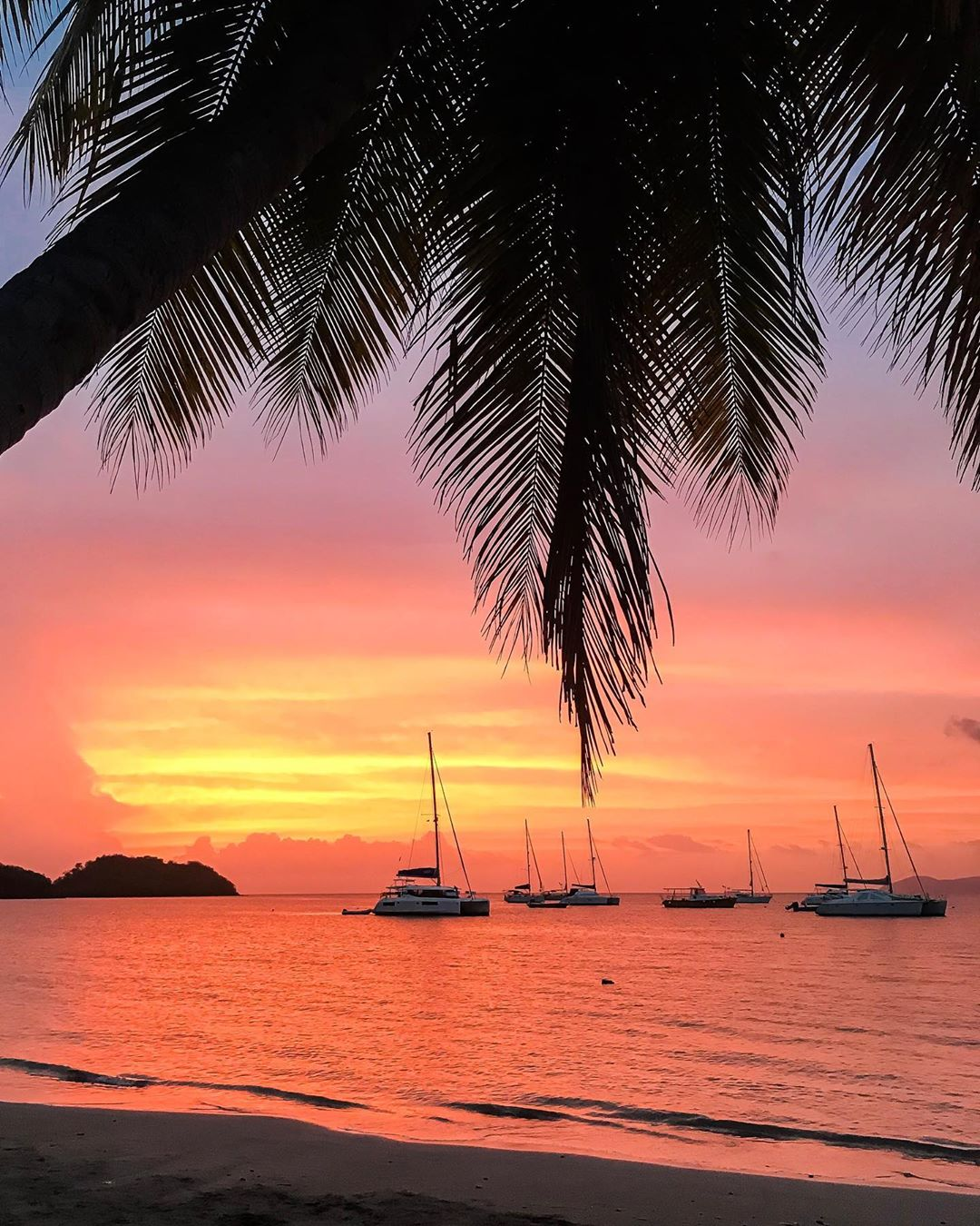 Caribbean First Time Visitors - Sunset