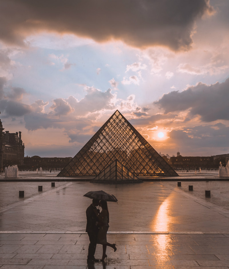 Paris Photography Guide - Pyramid Louvre