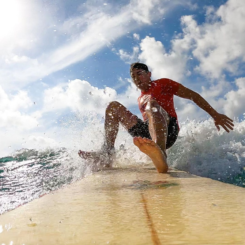 Learning to Surf