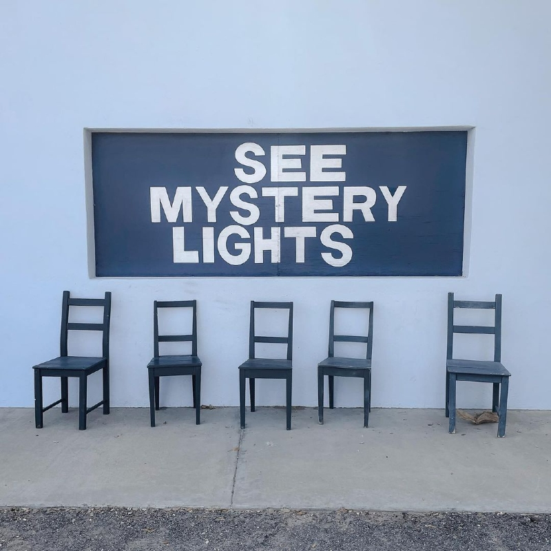 See Mystery Lights Sign