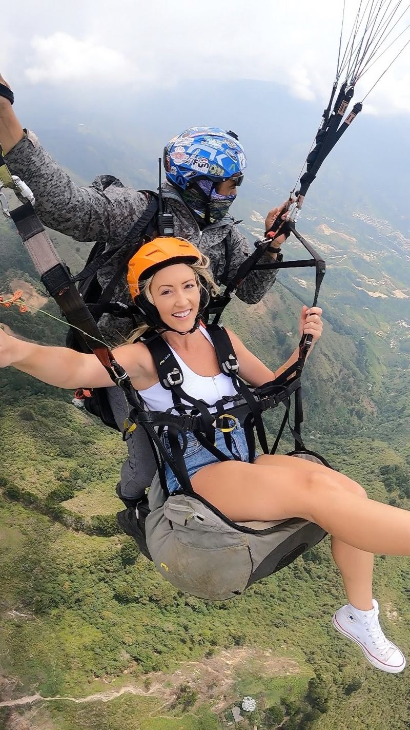 Paragliding Colombia