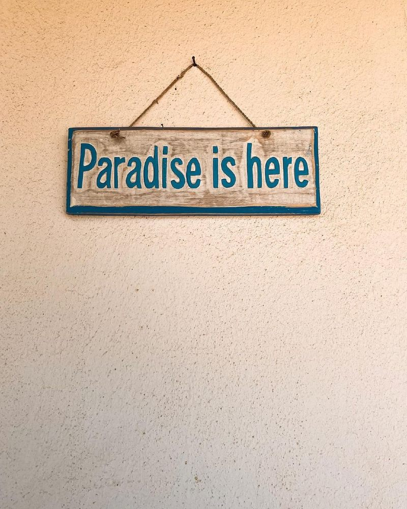 Paradise is Here